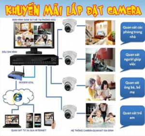 Lắp đặt camera giám sát chuyên nghiệp
