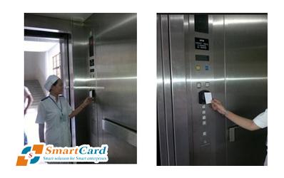 Quản lý thang máy bằng hệ thống thẻ từ