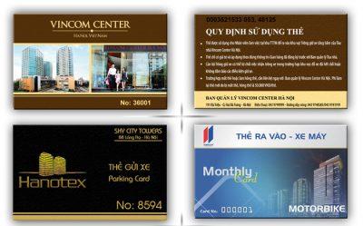 Quản lý xe bằng thẻ từ