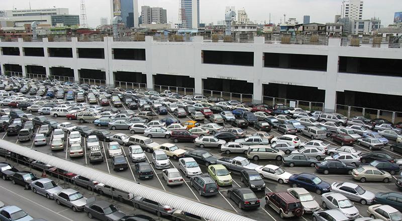 Sự quá tải tại bãi xe tự động
