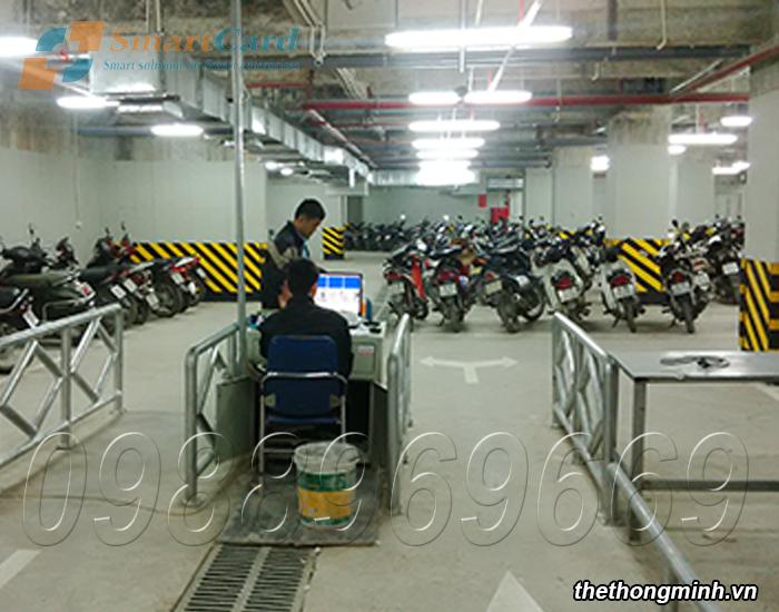 Bãi đỗ xe thông minh cho toà nhà HH4 Linh Đàm