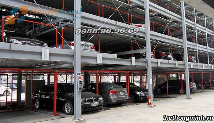 Hệ thống bãi đỗ xe tự động thông minh tại Hà Nội