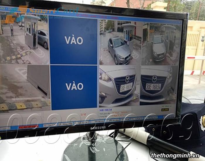 Phần mềm máy giữ xe thông minh