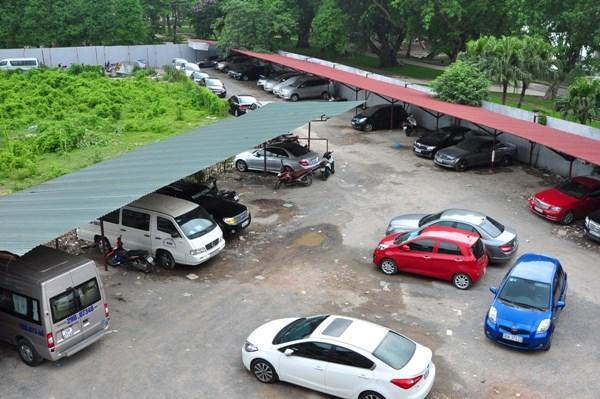 Bãi đỗ xe truyền thống