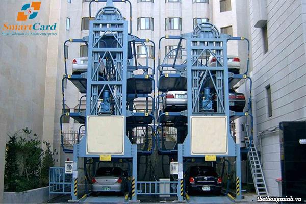 Giải pháp bãi đỗ xe ô tô tự động tại các toà chung cư
