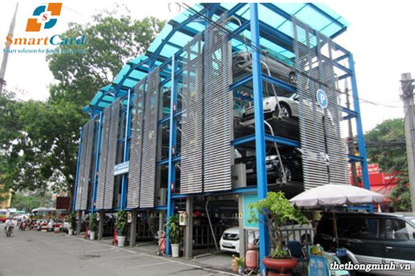 Bãi đỗ xe tự động xếp tầng