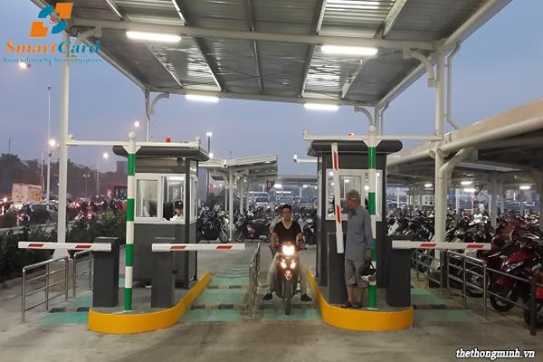Giải pháp quản lý bãi đậu xe máy thông minh