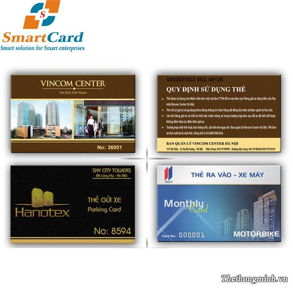 Gửi xe bằng thẻ từ
