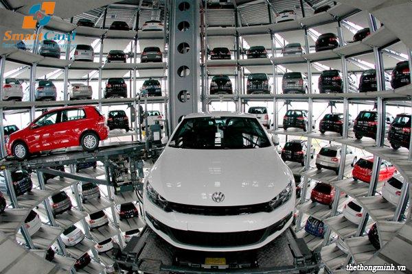Hệ thống bãi đậu xe tự đông thông minh
