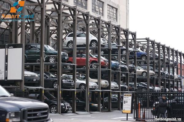 Hệ thống bãi đỗ xe the từng tầng