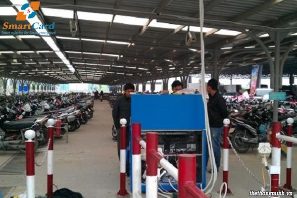 Hệ thống quản lý bãi xe máy thông minh