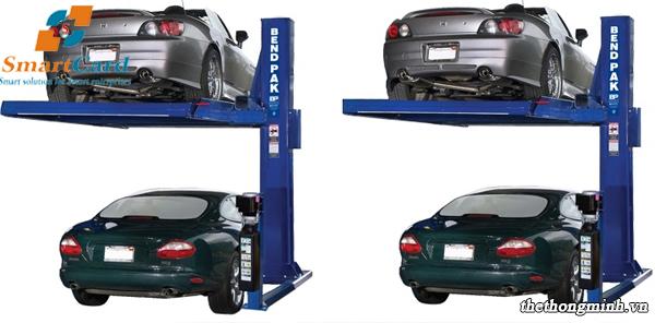Hệ thống bãi đậu xe thông minh 1 trụ