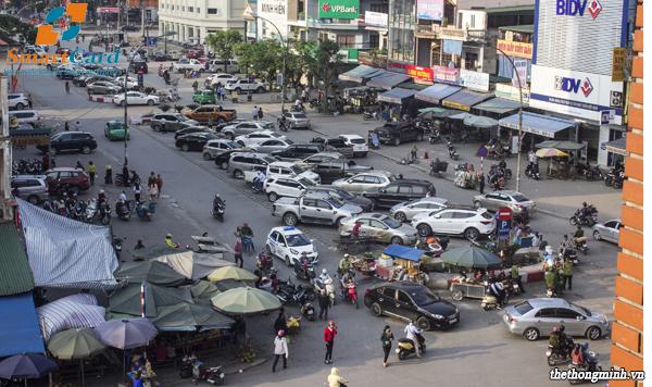 Tình trạng bãi đỗ xe tại các khu đô thị Việt Nam