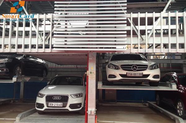 Giàn đỗ xe thông minh chuyên nghiệp tại Việt Nam