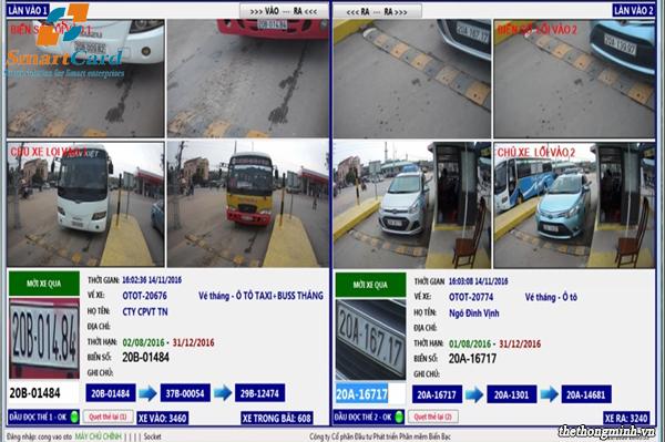 Phần mềm quản lý bãi đỗ xe thông minh