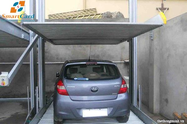 Nhà để xe ô tô 2 tầng